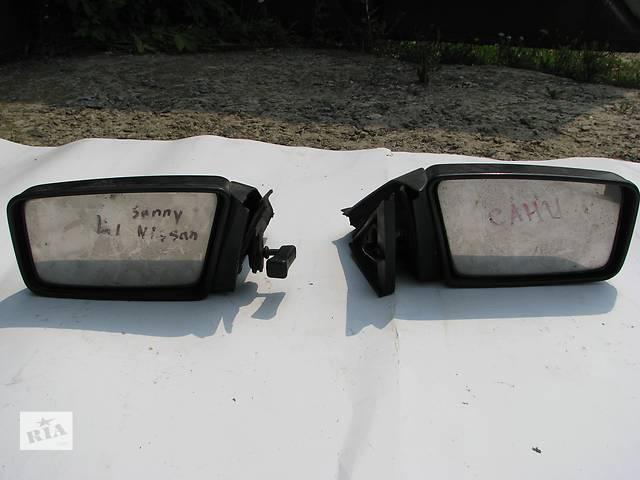 бу Б/у зеркала заднего вида боковые Nissan Sunny N12 в Броварах