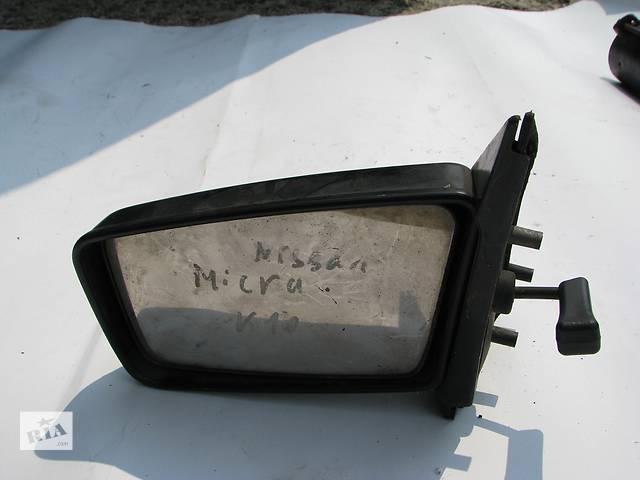 купить бу Б/у зеркало заднего вида боковое л Nissan Micra K10 в Броварах