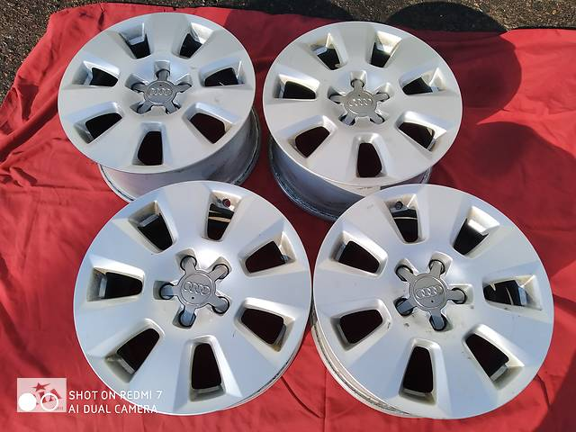 продам Б/в диски для Audi A6, A4 5/112/16 бу в Рівному