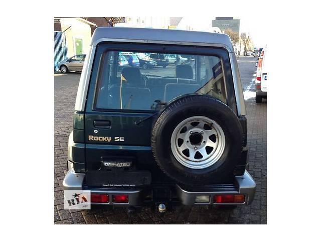 бу б/у Детали кузова Багажник Легковой Daihatsu Rocky 1997 в Львове