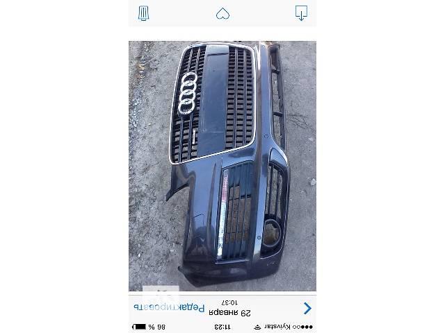 б/у Детали кузова Бампер передний Легковой Audi Q7 2008- объявление о продаже  в Ковеле