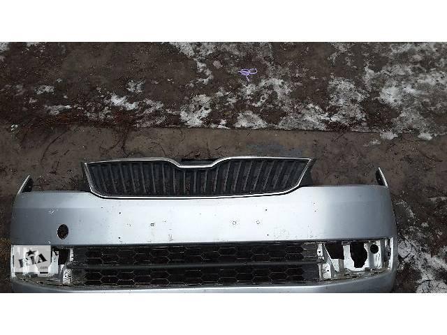 б/у Детали кузова Бампер передний Легковой Skoda Rapid Седан 2014- объявление о продаже  в Полтаве