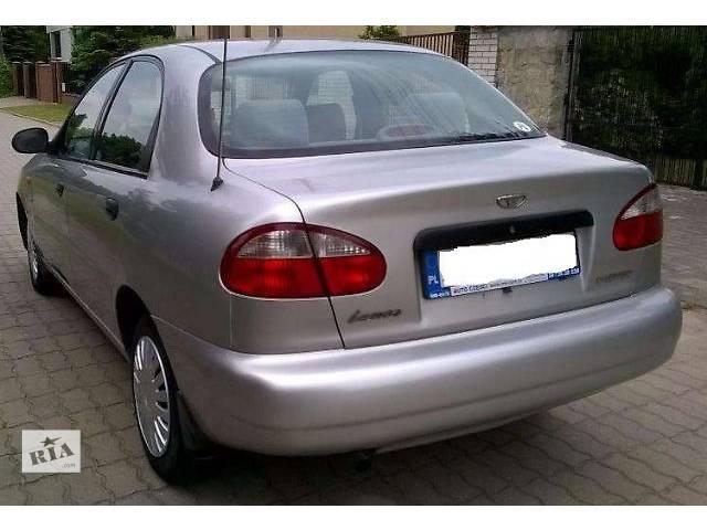 продам б/у Детали кузова Бампер задний Легковой Daewoo Lanos 2002 бу в Львове