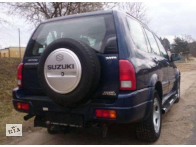 продам б/у Детали кузова Бампер задний Легковой Suzuki XL7 2003 бу в Львове