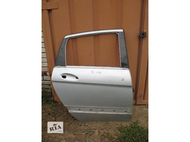 б/у Двери/багажник и компоненты Дверь задняя Легковой Mercedes B-Class- объявление о продаже  в Луцке