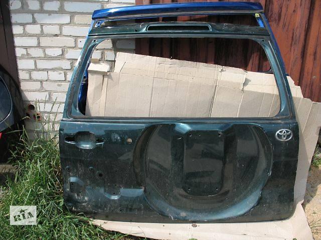 бу б/у Двери/багажник и компоненты Крышка багажника Легковой Toyota Land Cruiser Prado 120 в Луцке