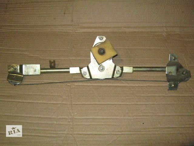 бу Б/у Двери/багажник и компоненты Стеклоподъемник Легковой ЗАЗ Славута 2005 в Житомире