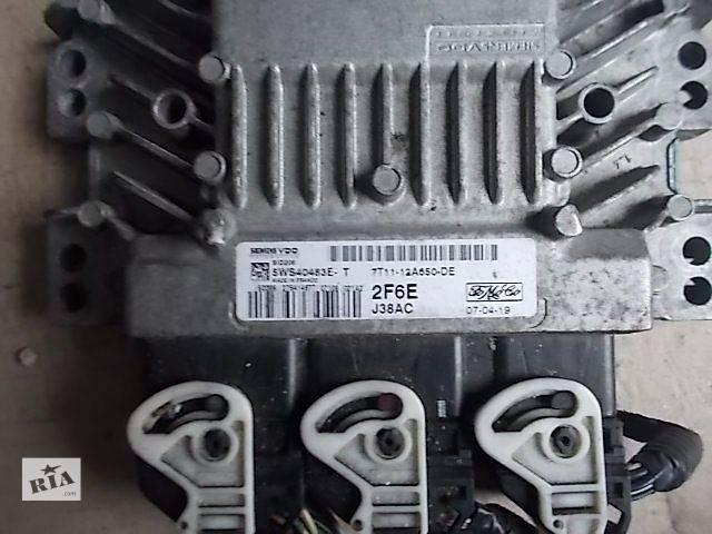 купить бу Б/у Электрооборудование двигателя Блок управления двигателем Легковой Ford Transit Connect 2007 5WS40483ET в Ровно