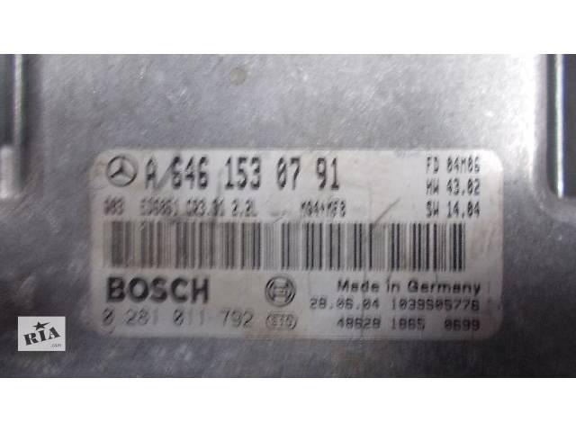 купить бу Б/у Блок управления двигателем Легковой Mercedes Vito 2003-2009 A6461530791 A6421500972 A6111534979 A6461533191 в Ровно