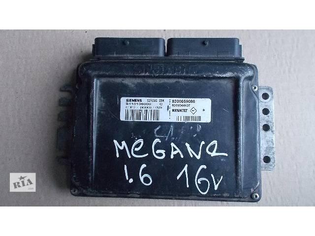 продам Б/у Электрооборудование двигателя Блок управления двигателем Легковой Renault Megane 1999-2004 8200059086 бу в Ровно