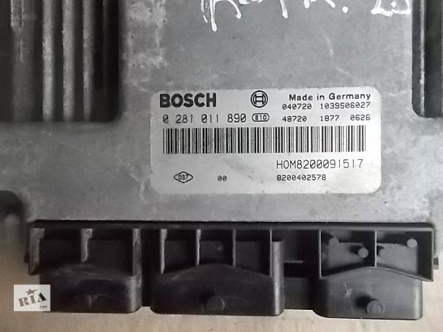Б/у Электрооборудование двигателя Блок управления двигателем Легковой Renault Trafic пасс. 2001-2006 0281011890- объявление о продаже  в Ровно