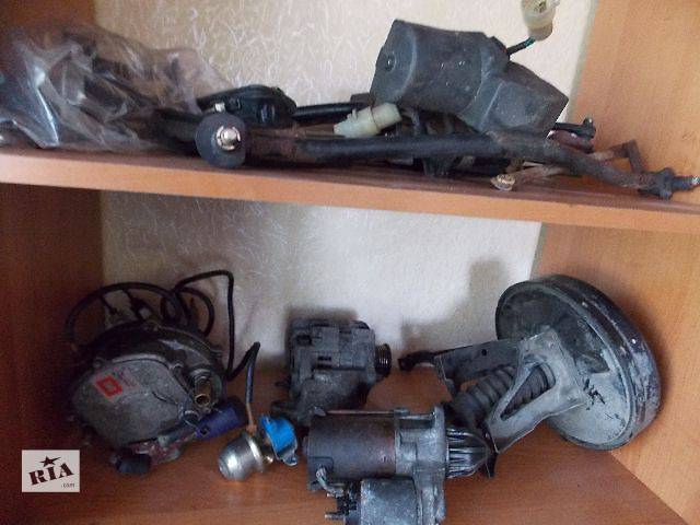 купить бу б/у Электрооборудование двигателя Стартер/бендикс/щетки Легковой Daewoo Lanos в Львове