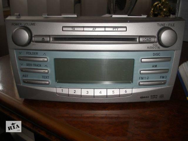 б/у Электрооборудование кузова Радио и аудиооборудование/динамики Легковой Toyota Camry Седан 2008- объявление о продаже  в Луцке