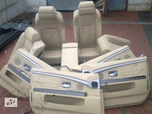 продам Б/у Компоненты кузова Сиденье Легковой BMW 7 Series (все) 2007 бу в Львове