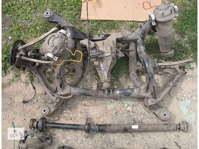 продам б/у Задний/передний мост/балка, подвеска, амортиз Балка задней подвески Легковой Audi Q7 бу в Луцке