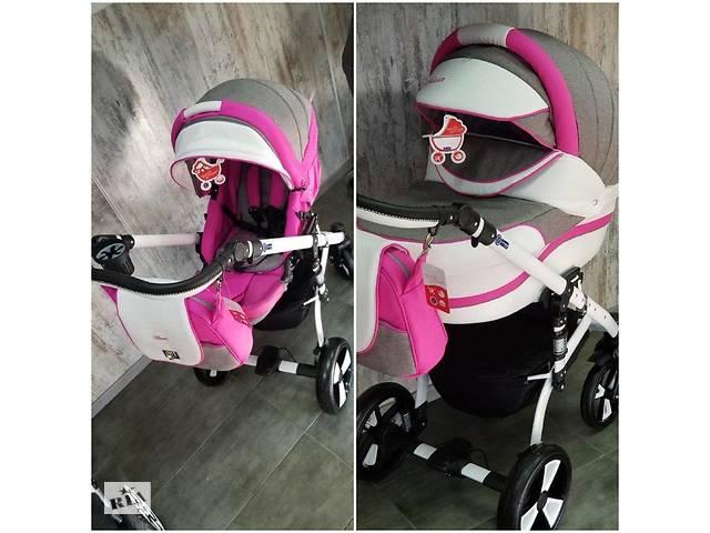 """бу Детская коляска 2в1 """"MACAN"""" Grey-Pink в Одессе"""