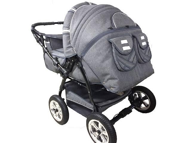 Детская коляска-трансформер для двойни Trans baby Таурус Duo (06)- объявление о продаже  в Львове