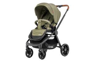 Прогулочная коляска CARRELLO Epica CRL-8509 Olive Green +дождевик L