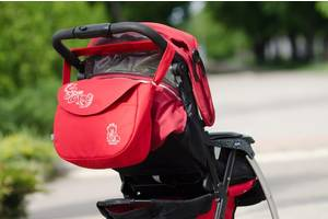 Сумка на коляску Baby Breeze 0355 красная