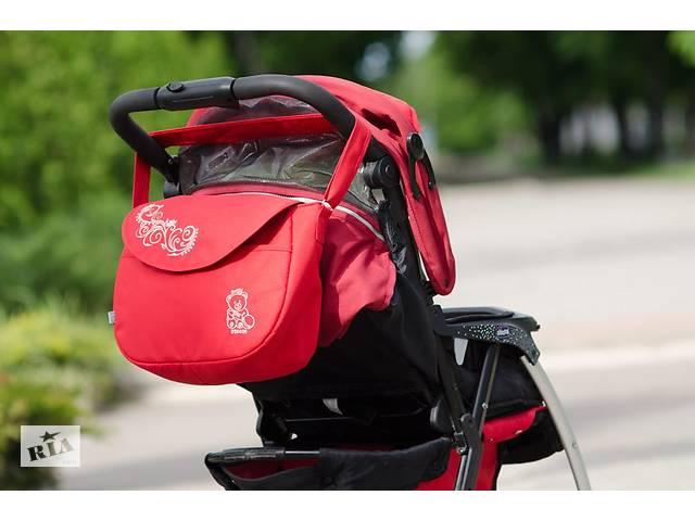 Сумка на коляску Baby Breeze 0355 красная- объявление о продаже  в Одессе