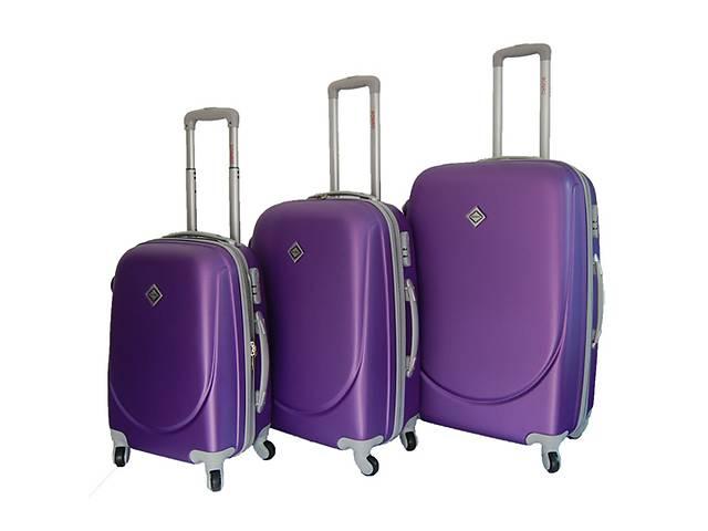 Набор чемоданов Smile с двойными колесами 3шт. в разных цветах.- объявление о продаже  в Львове