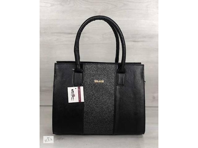 41e6ef6b56a6 продам Каркасная женская сумка Селин черного цвета со вставкой блеск бу в  Киеве
