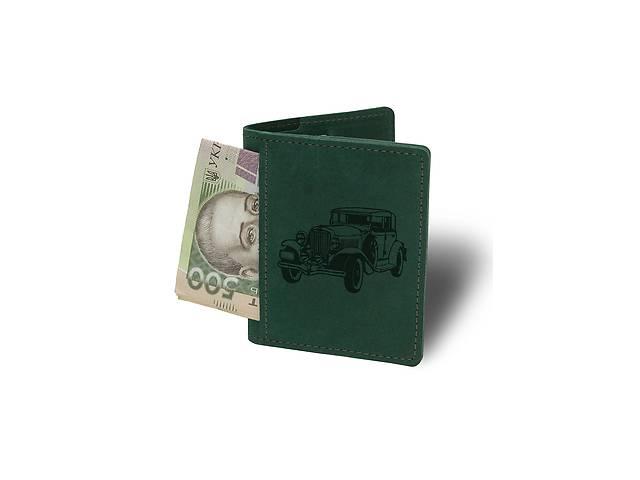 Кошелек-картхолдер Ретро М15 зеленый - 178246- объявление о продаже  в Одессе