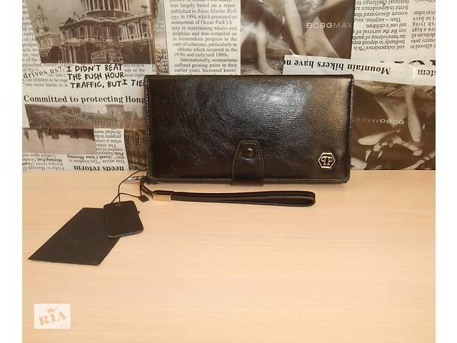 60de9cb28597 бу Кошелек клатч барсетка мужской Philipp Plein, кожа, Италия в Запорожье