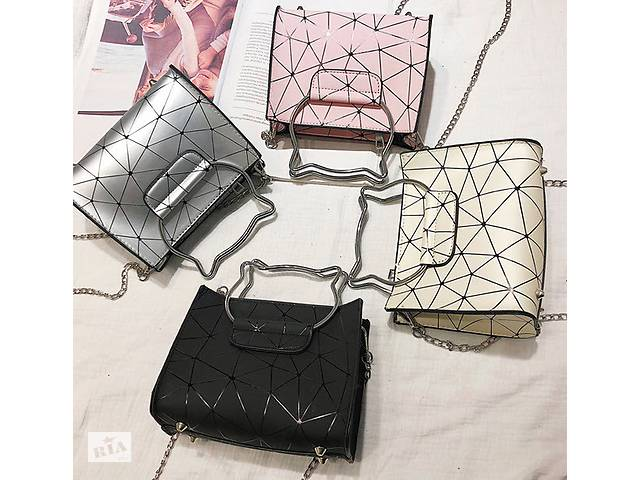 fae2b8dfa4b3 бу Модная сумка с ручками котиками и голографическим дизайном в Хмельницком