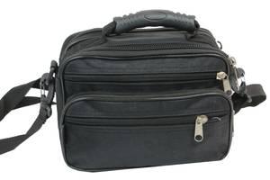 Мужская компактная сумка, барсетка Wallaby 21231 Wllby21231 black
