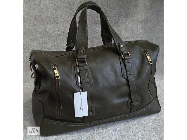 e51f98a83333 купить бу Мужская сумка David Jones, дорожная сумка для командировок,  вместительная сумка для поездок