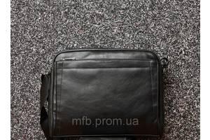 Мужской кожаный (кожа искусственная) портфель / сумка с отделом под ноутбук David Jones / Дэвид Джонс 1 110 гр