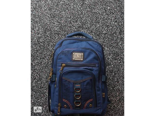 купить бу Мужской прочный брезентовый городской рюкзак (аналог Gold Be / GoldBe) в Дубно