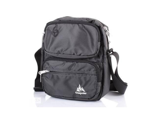 купить бу Сумка спортивная Onepolar Мужская спортивная сумка ONEPOLAR (ВАНПОЛАР) W5630-grey в Дубно