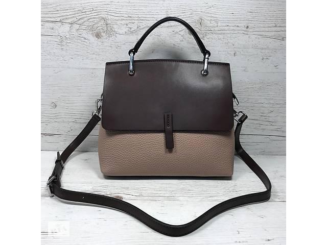 9a3aaf149450 продам Женская кожаная сумка коричневая серая черная женская кожаная сумка  черная серая бу в Одессе