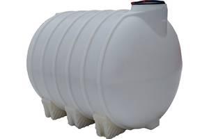 Бак, бочка 5000 л ємність посилена для транспортування води, КАС перевезення без перегородок біла пі