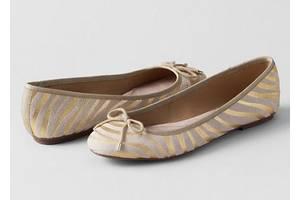 Новые Женские балетки Lands End Amelia Thong Sandals