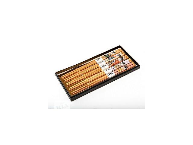 бу Бамбуковые палочки для суши 5 пар 22,5 см. новые в Хмельнике (Винницкой обл.)