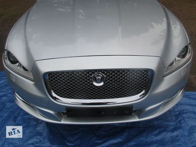 бу Бампер передний для легкового авто Jaguar XJ 2011 JAGUAR XJ X351 JAGUAR XJ X350 морда комплектная в Жовкве