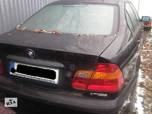 купить бу  Бампер задний для легкового авто BMW 318 в Ужгороде