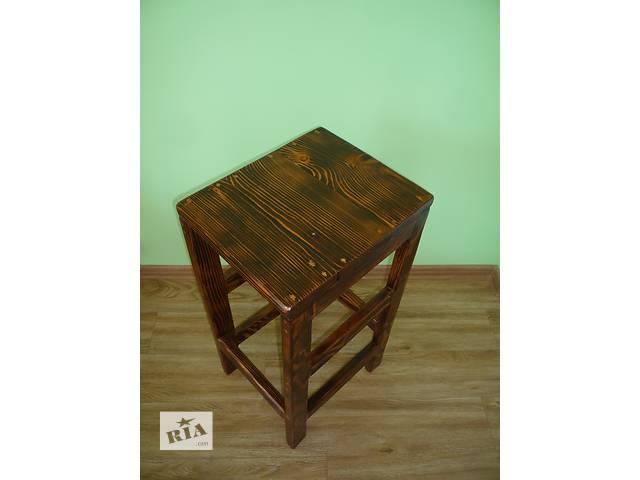 Барный стул из массива сосны под старину!- объявление о продаже  в Хотине (Черновицкой обл.)