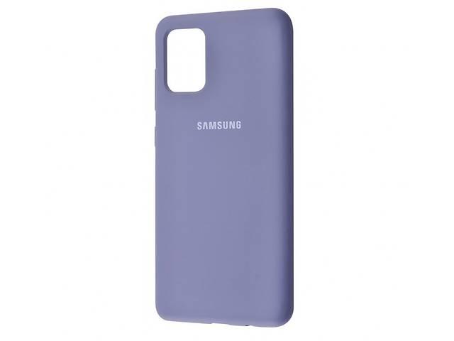 продам Чехол для Samsung Galaxy A71 Silicone Cover Lavender Gray бу в Харькове