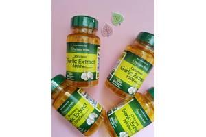 Чеснок Антиоксидант Puritan's Pride Odorless Garlic 500 mg 100 Rapid