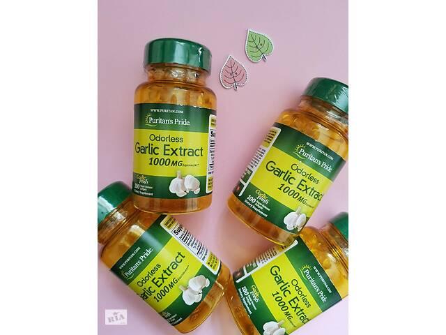 Чеснок Антиоксидант Puritan's Pride Odorless Garlic 500 mg 100 Rapid- объявление о продаже  в Днепре (Днепропетровск)