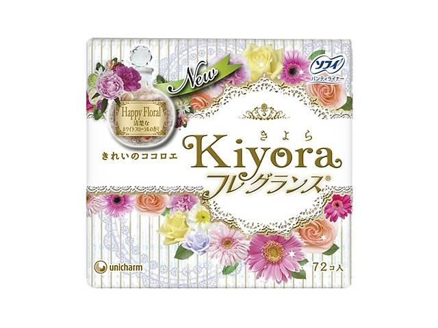 продам Ежедневные гигиенические прокладки Sofy Kiyora Happy Floral, 72 шт бу в Киеве