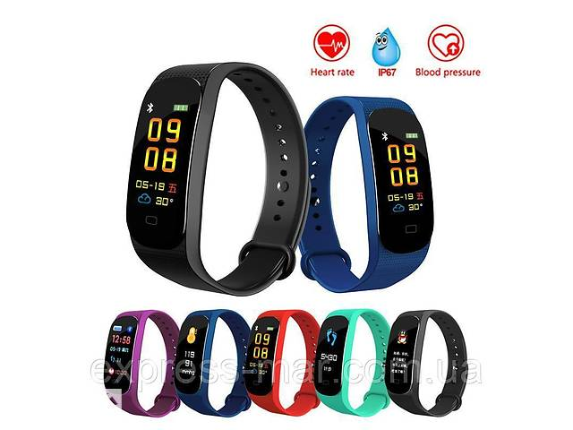 Фитнес браслет M5 Band Smart Watch Bluetooth 4.2, шагомер, фитнес трекер, пульс, монитор сна- объявление о продаже  в Харькове