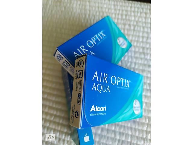 Контактные линзы: AIR OPTIX  Aqua