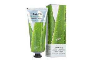 Крем для рук с экстрактом алоэ FarmStay Visible Differerce Hand Cream Aloe, 100 мл