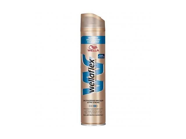 Лак для волос WellaFlex Экстрасильная Фиксация 400 мл (4056800922796)