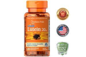 Лютеин плюс зеаксантин 20 мг 180 капсул, витамины для глаз США.